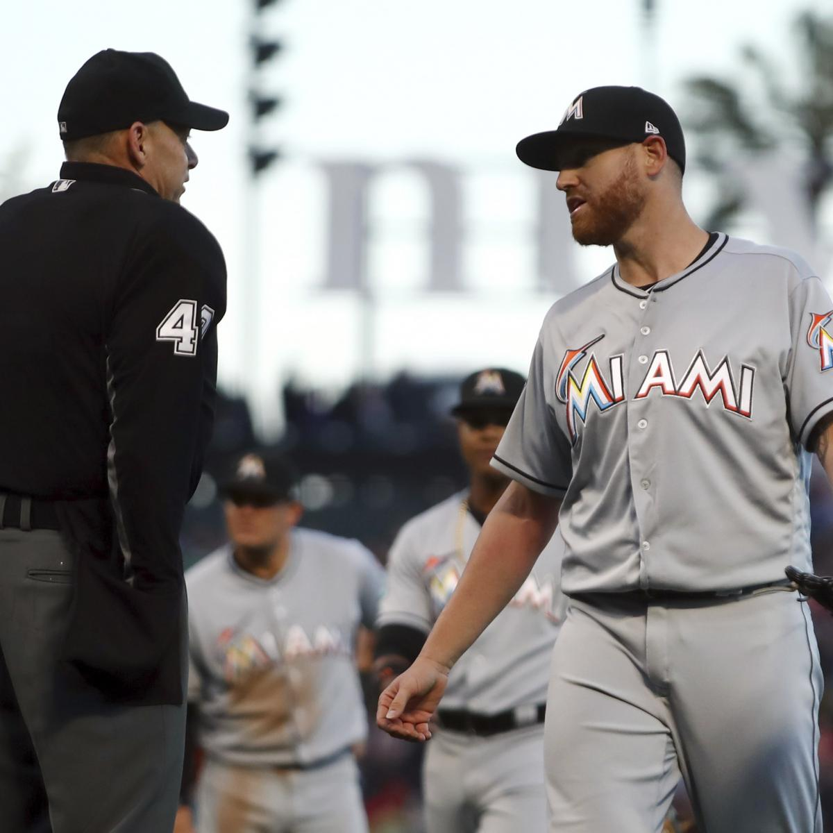 Dan Straily, Don Mattingly Reportedly Suspended After Buster Posey Thrown at
