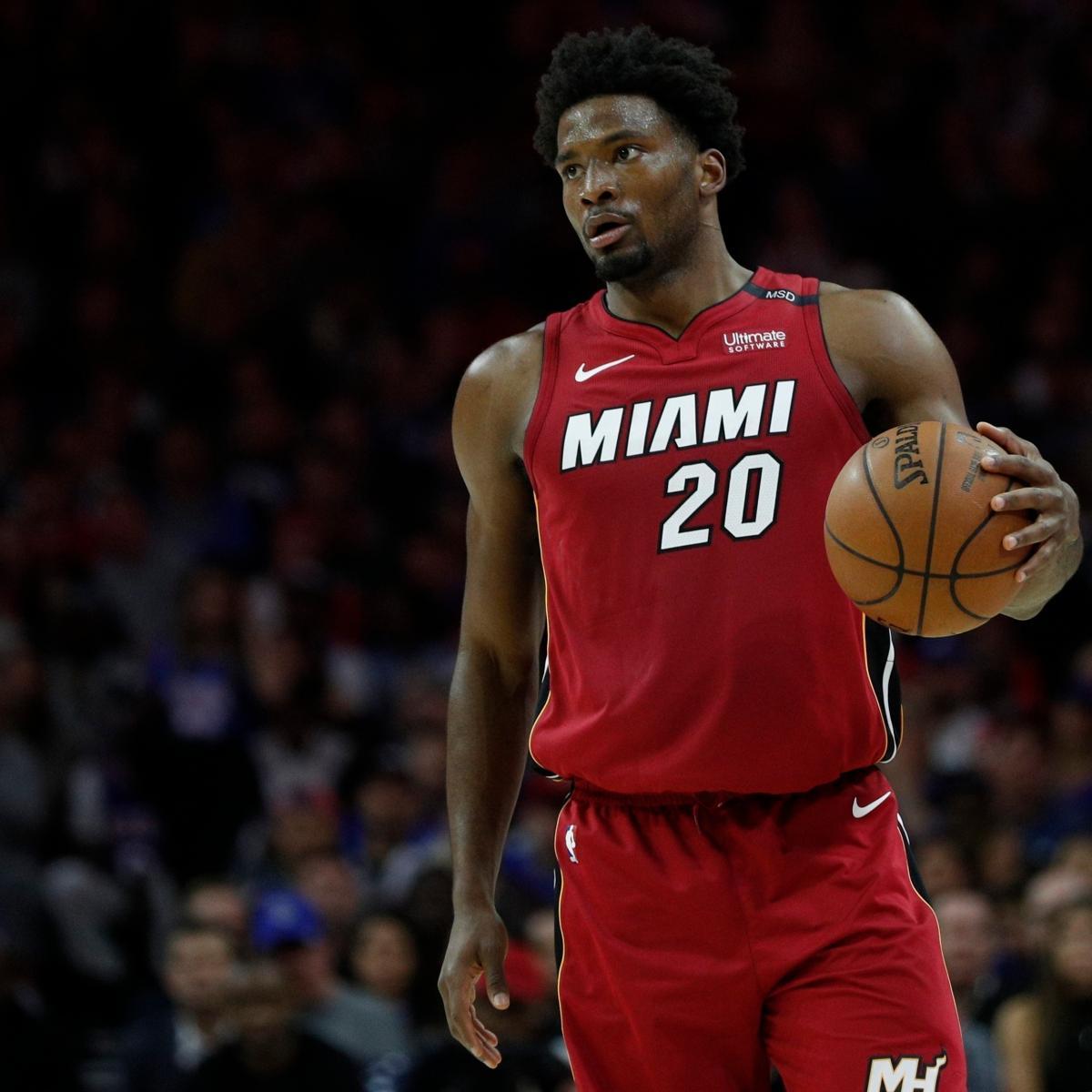 Justise Winslow Trade Rumors Surface as Heat Look to Land 2018 NBA Draft Pick