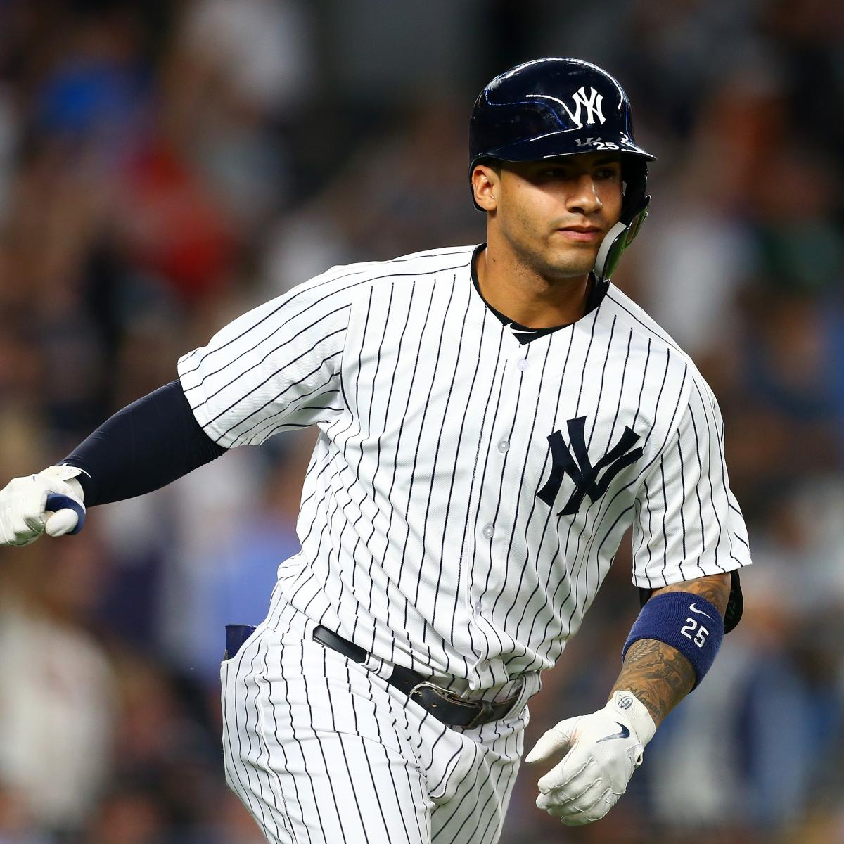 Yankees Rookie Gleyber Torres Placed On 10-Day DL With Hip