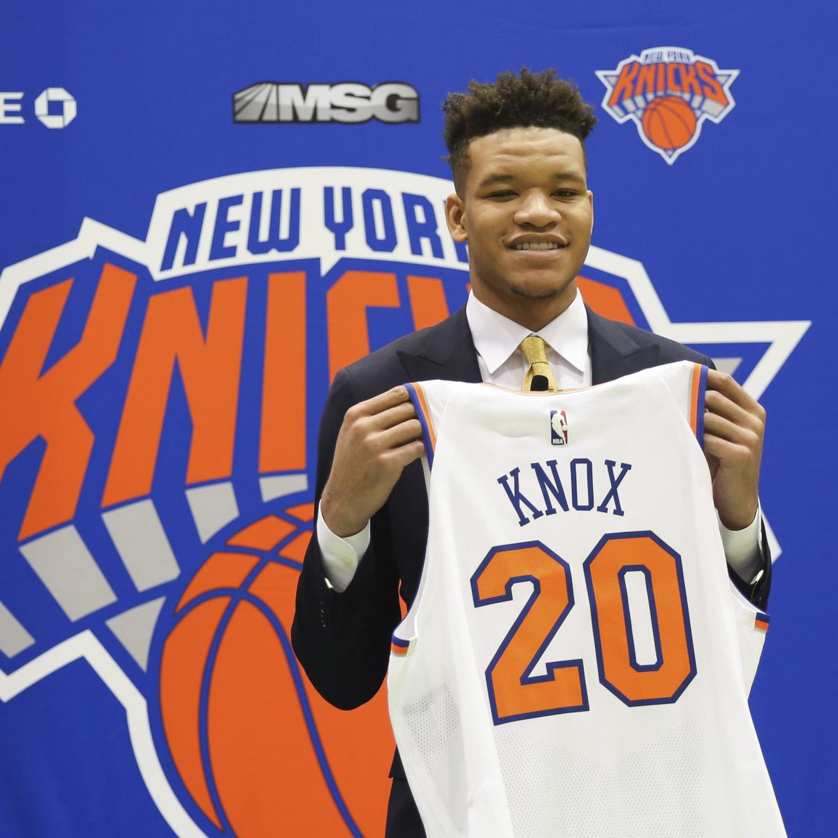 Knicks' Kevin Knox Says 'Rookie Of The Year' Goal Will Be