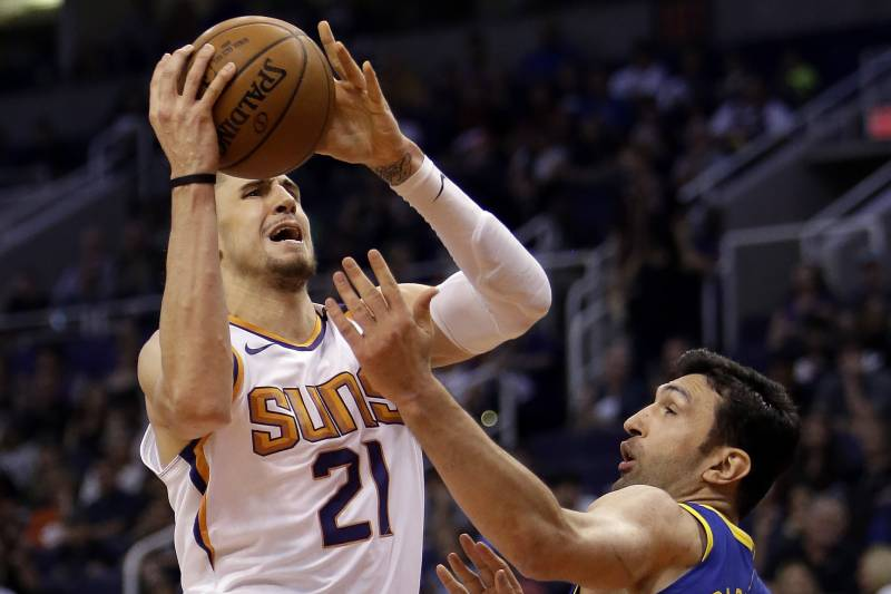 outlet store 9558d b40ab NBA Rumors: Suns to Renounce Rights to Alex Len, Elfrid ...