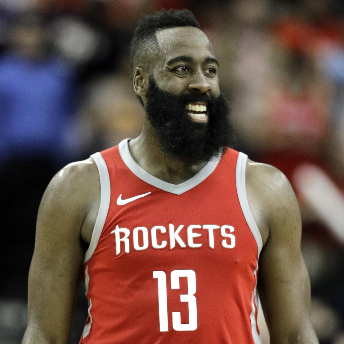 Nba2k19 James Harden: 2018 NBA MVP Voting Results: James Harden Wins In A
