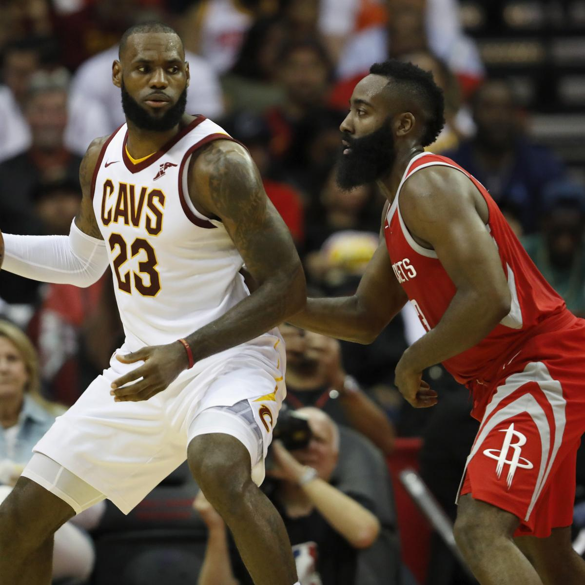 James Harden Free Agency: James Harden Doesn't Try Recruiting LeBron James, Says