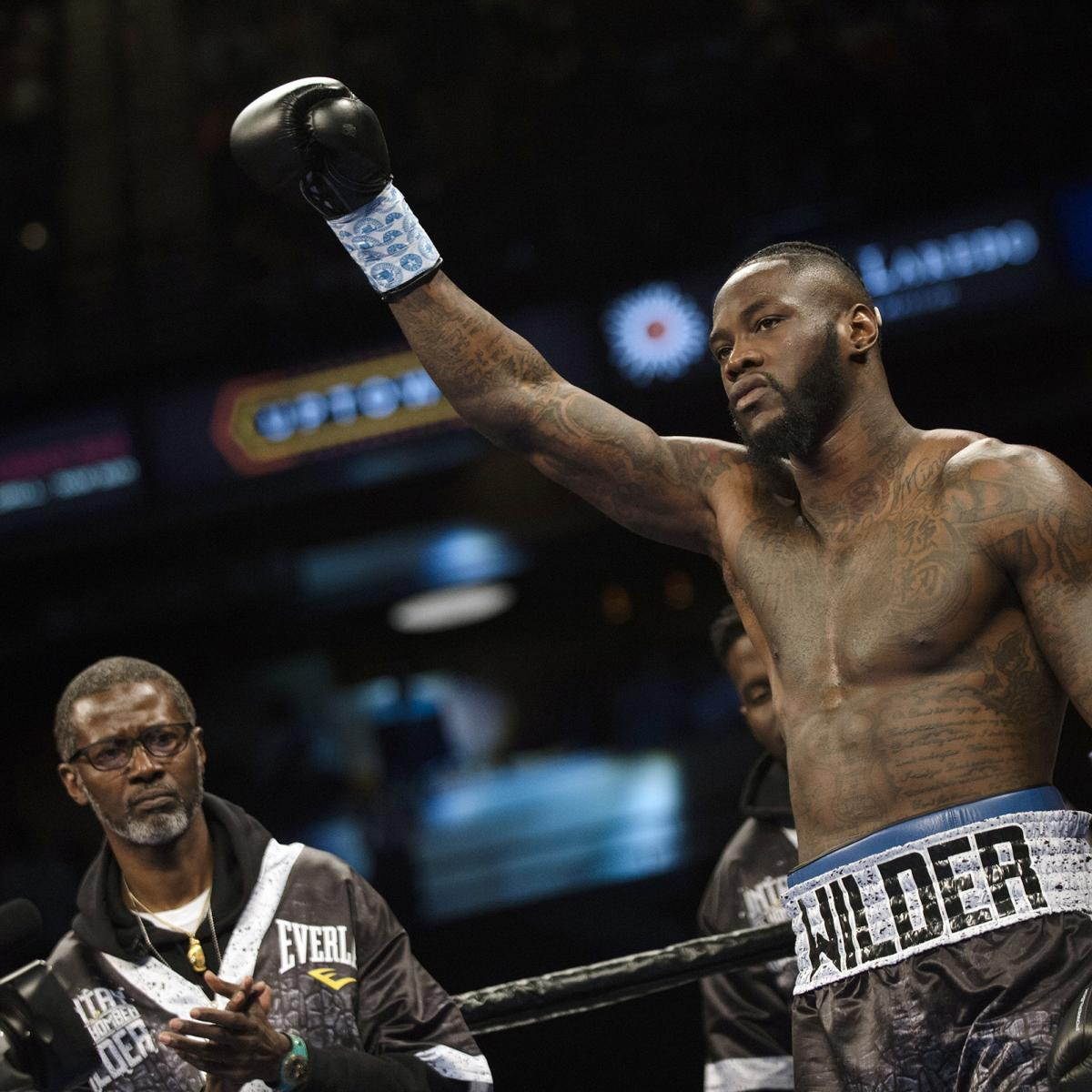 Deontay Wilder Confirms Anthony Joshua Fight Won't Happen