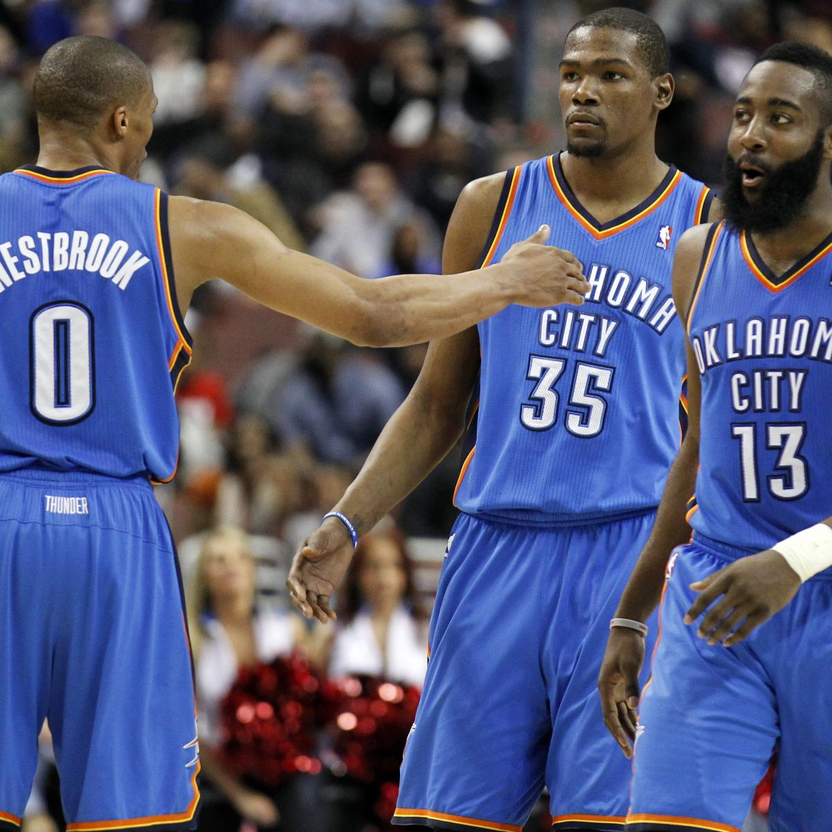 James Harden In Okc: James Harden's MVP Brings Back Questions Of What Might