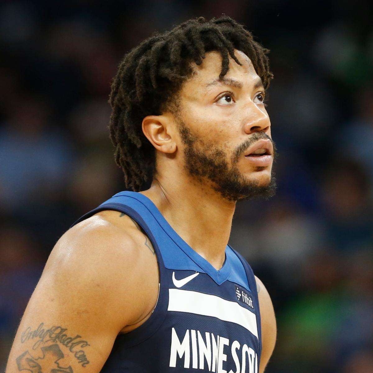 Derrick Rose Re-Signs with Timberwolves on Reported 1-Year ...