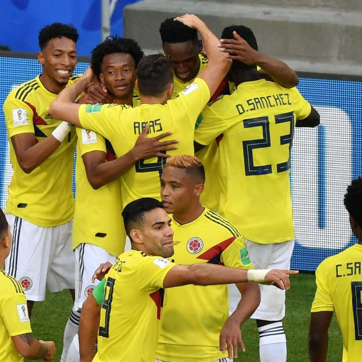 England Vs Kolumbien
