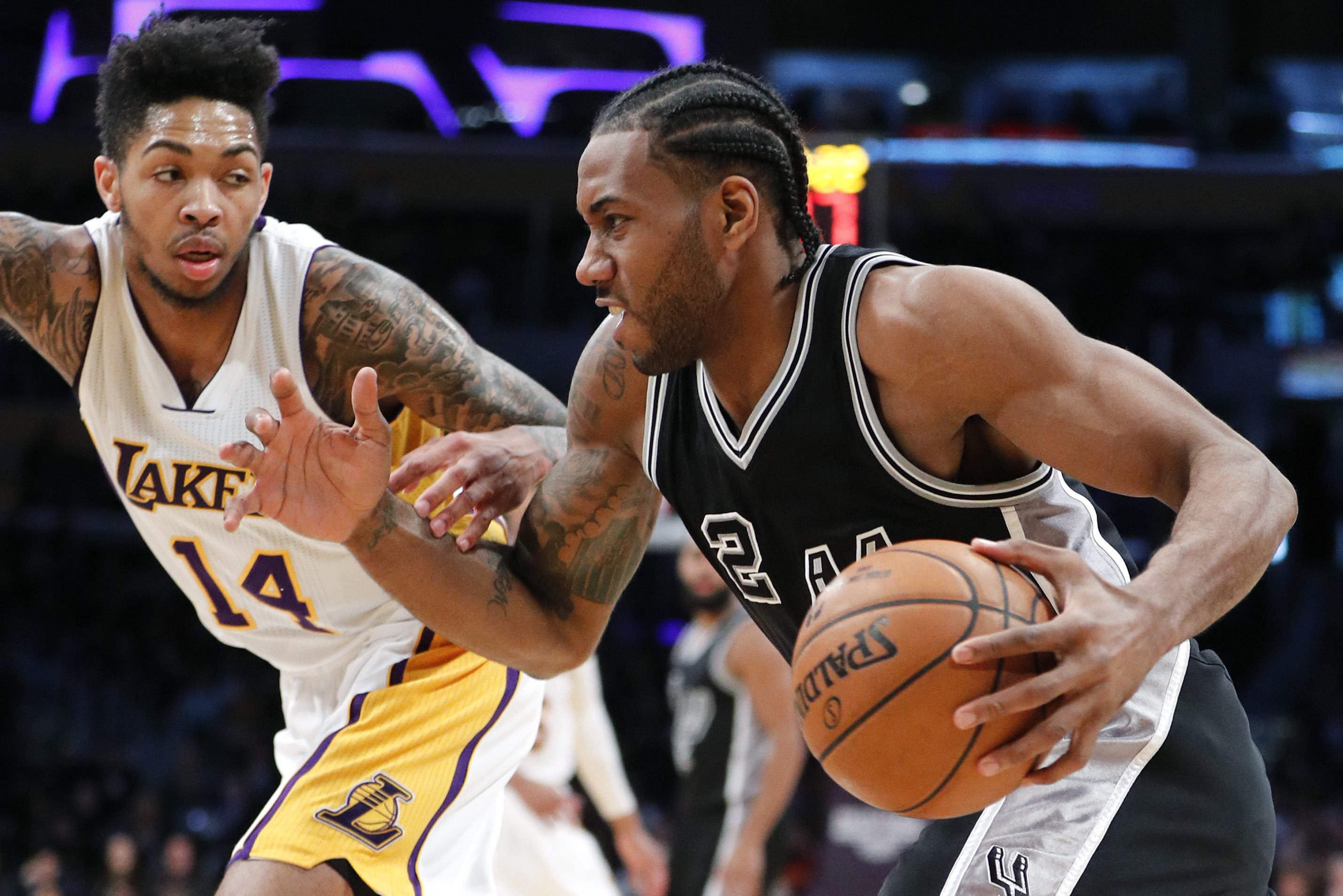 new products 591df b0508 Lakers Rumors: Latest Buzz on Possible Kawhi Leonard Trade ...