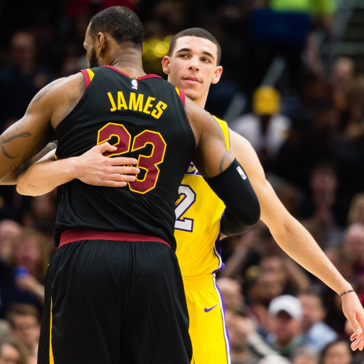 How Will LeBron James and Lonzo Ball Fit Together with the Los Angeles Lakers?
