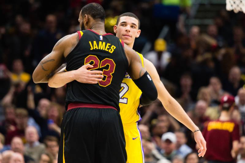 cee5409e5c9 How Will LeBron James and Lonzo Ball Fit Together with the Los ...