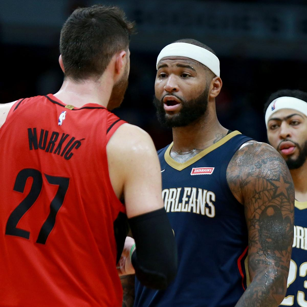 Report: DeMarcus Cousins Sign-and-Trade To Blazers Nixed