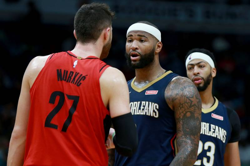 ba4bc3144 Report  DeMarcus Cousins Sign-and-Trade to Blazers Nixed Before Warriors  Deal