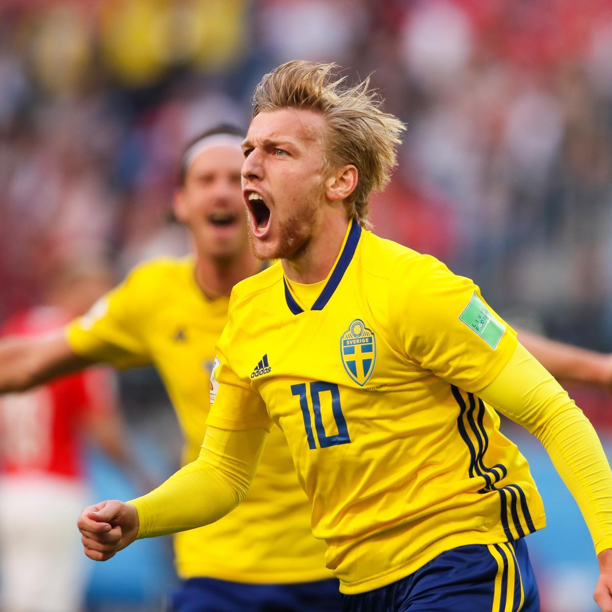 Emil Forsberg Sends Sweden to World Cup Quarter-Finals ...