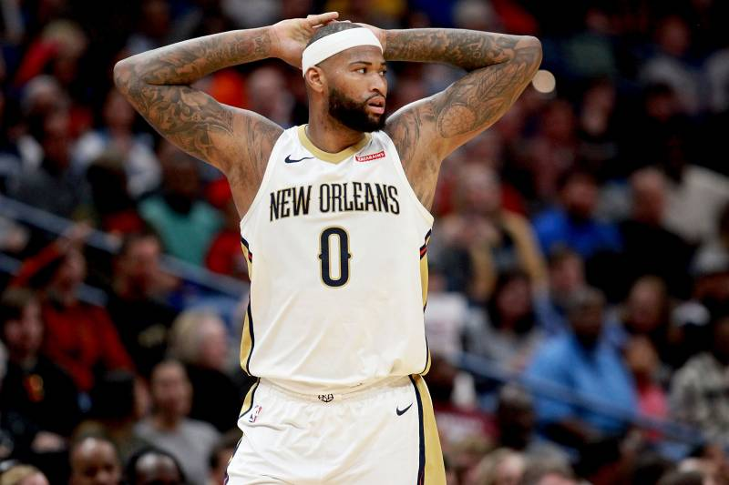 arrives 0fc85 32fe1 Report: DeMarcus Cousins Rejected Pelicans' 2-Year, $40 ...