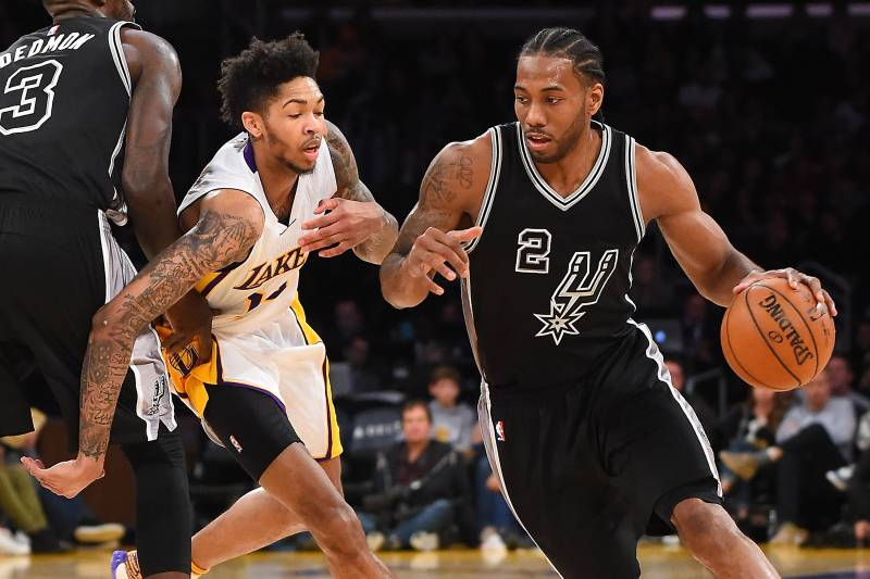 5efb65a6cc45 Lakers News  Kawhi Leonard Trade Buzz