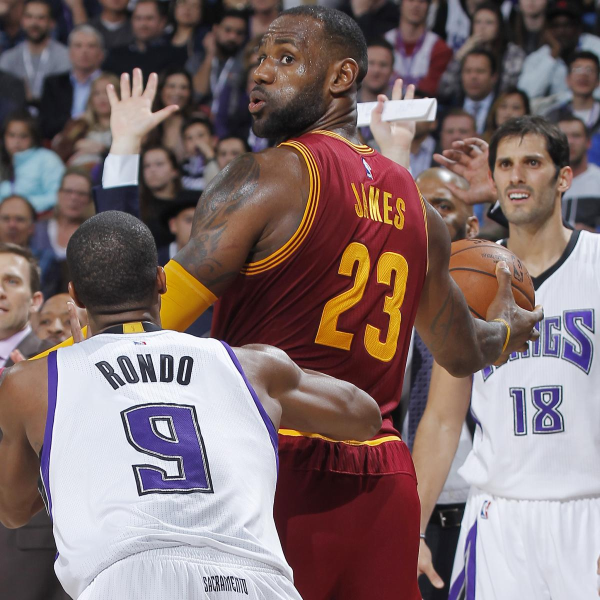 Rajon Rondo 'Excited' to Help Lonzo Ball, Expects LeBron James' L...