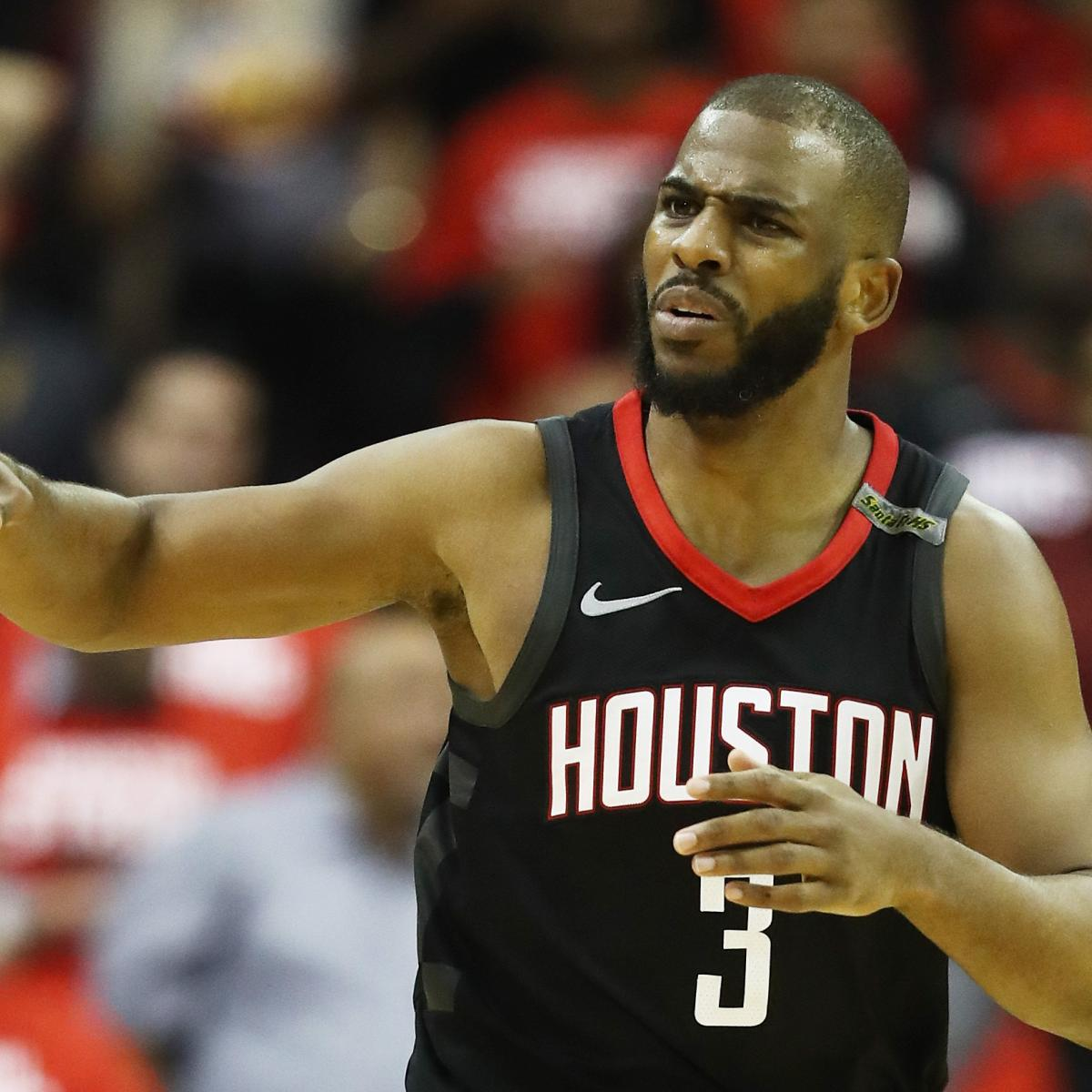 James Harden Injury Report: Chris Paul: Latest News, Photos, And Videos