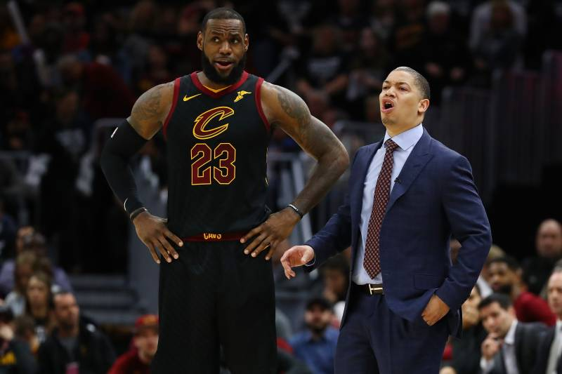 879a47336b1c Tyronn Lue Was Shocked by LeBron James Joining Lakers