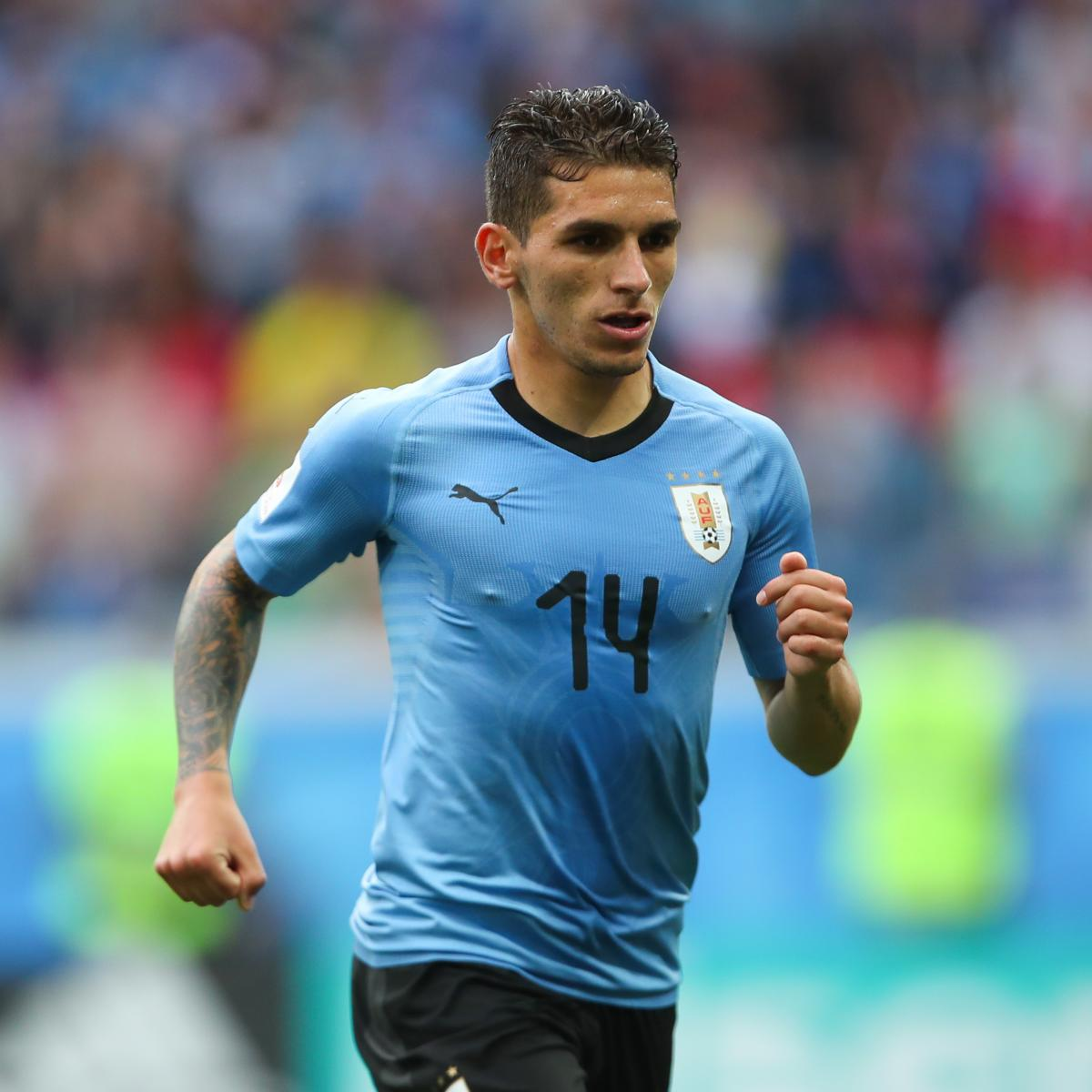 Reports Arsenal Were Ready To Sign Lucas: Lucas Torreira Confirms Flight To London Ahead Of Medical