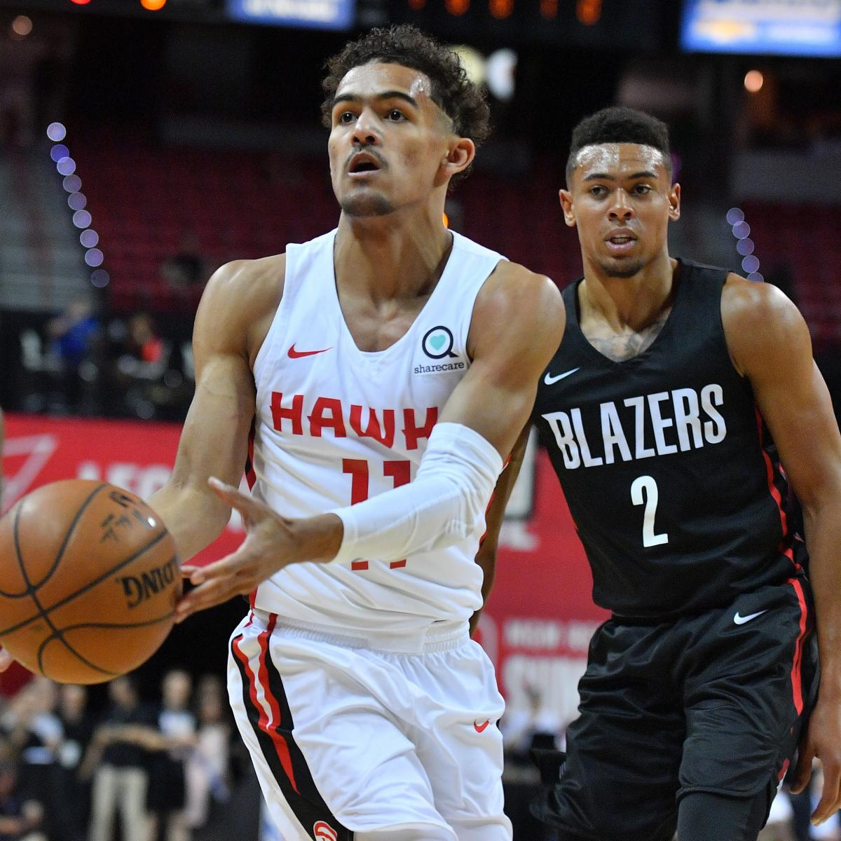 Blazers Injury Report: Trae Young Held Scoreless, Suffers Quad Injury In Hawks