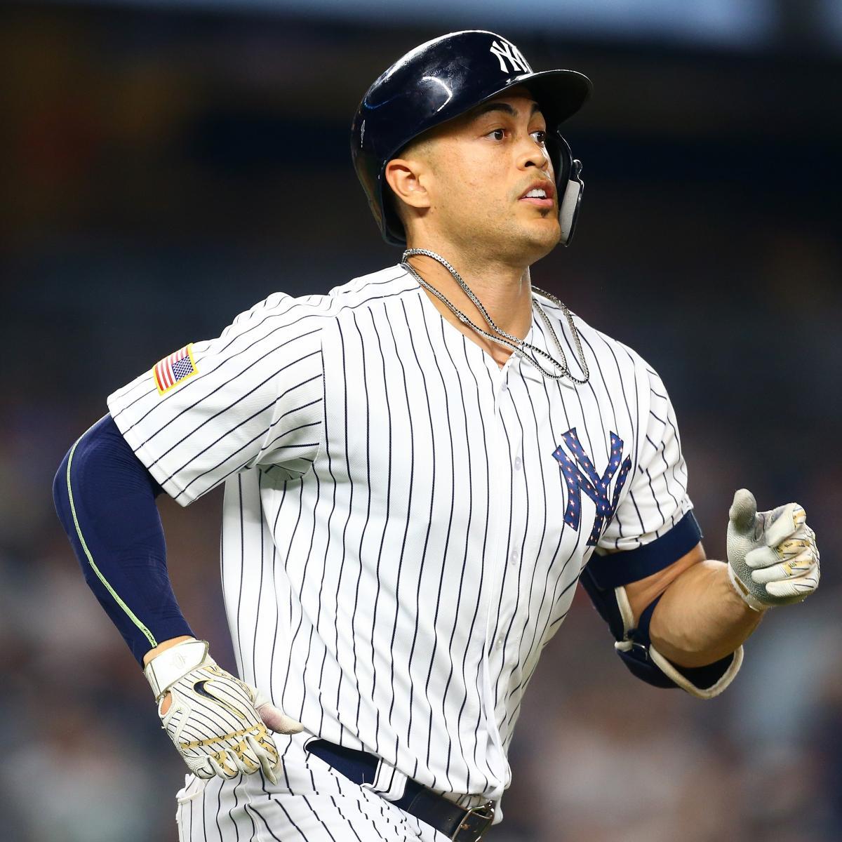 Mike Fiers Stanton Tweet: Giancarlo Stanton, Jesus Aguilar Headline 2018 MLB All