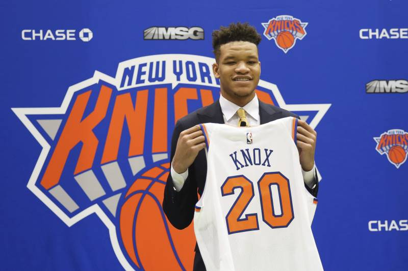 2914816cd Kevin Knox Flashes Potential Again as Jazz Beat Knicks Without ...