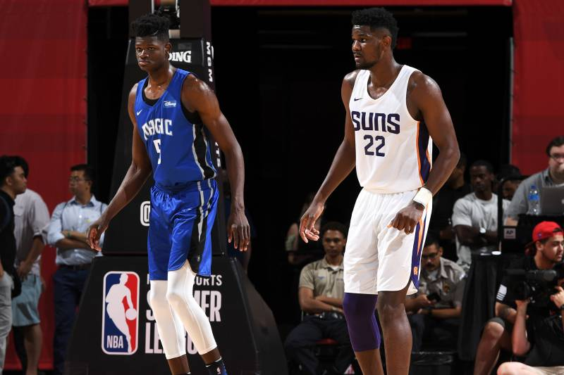 2d428bac8 NBA Summer League  Deandre Ayton Outplays Mo Bamba as Suns Beat ...