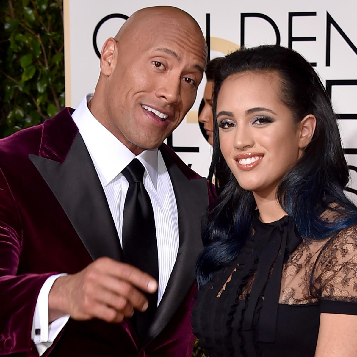 The Rock Says Daughter Simone Is 'Going to Be a Champ' in