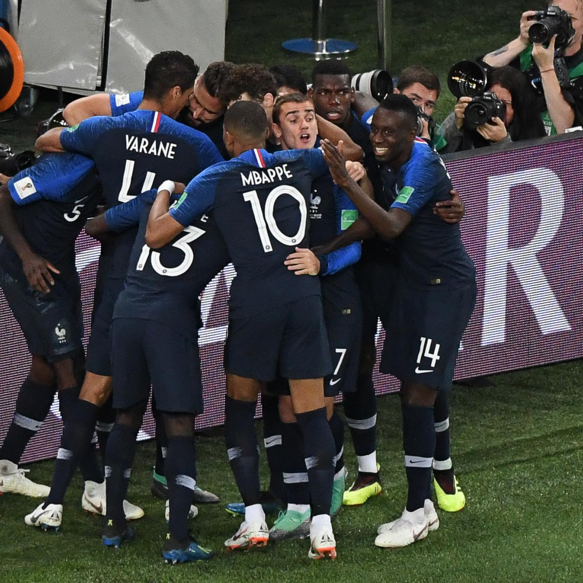 2645818c1 Samuel Umtiti Goal Sends Kylian Mbappe