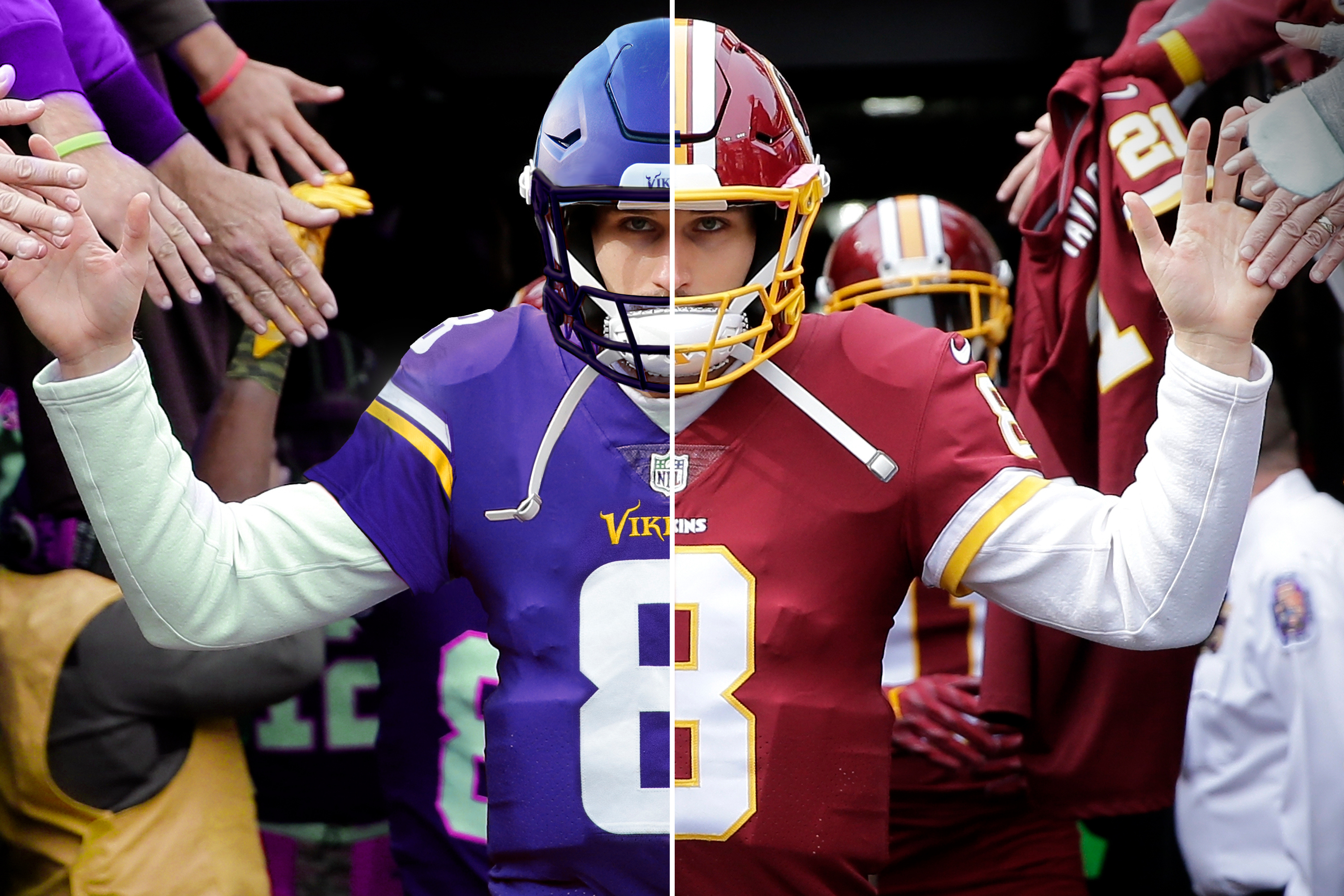 new style 3a034 fa4dc $84 Million Man Can't Be Satisfied: Kirk Cousins Is Keeping ...