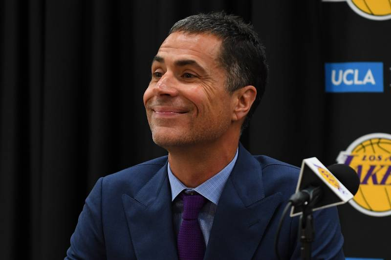 2ccd8d8cd82 Lakers News  Rob Pelinka Reveals How He Found out LeBron James Was ...
