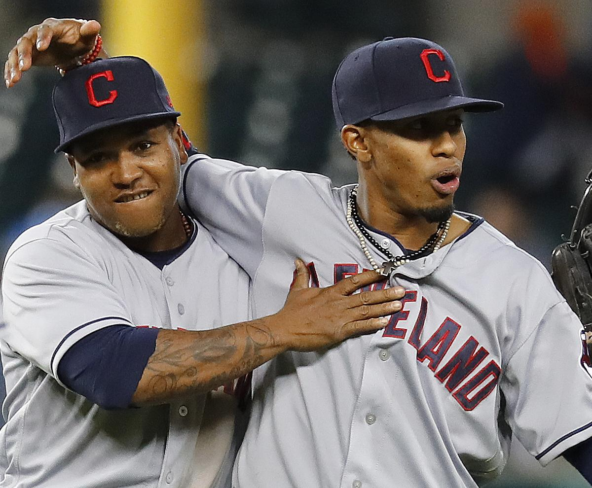 Francisco Lindor Jose Ramirez Duo Doing Things Not Seen Since Ruth Mlb Baseball Cap Free Size 003 And Gehrig Bleacher Report Latest News Videos Highlights