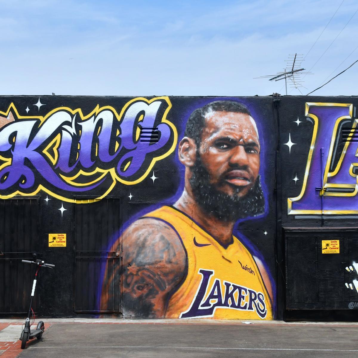 f1310fd418c LeBron James  Mural Vandalism Video Released