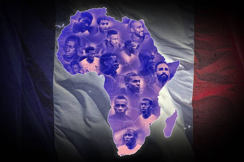 Why France Are Carrying Africa's Hopes in the World Cup