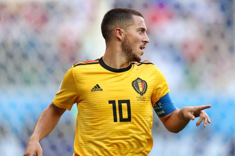 online retailer d5603 70ccd Eden Hazard Powers Belgium Past England in 2018 World Cup ...