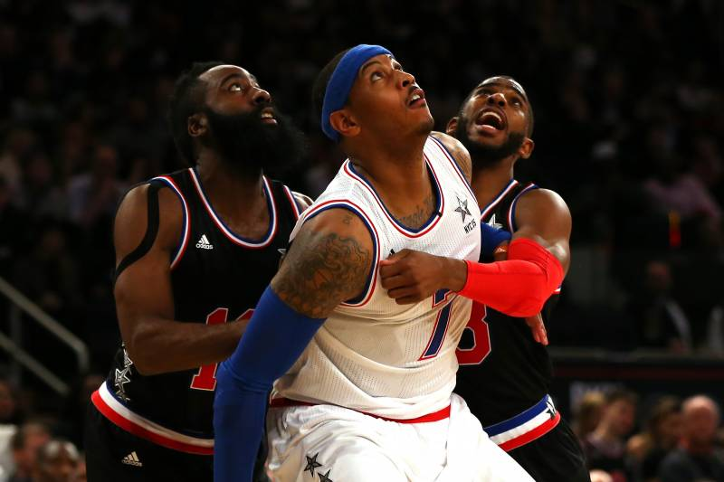 56a9b4b25 Houston Rockets Would Be a Better Fit for Carmelo Anthony Than OKC ...