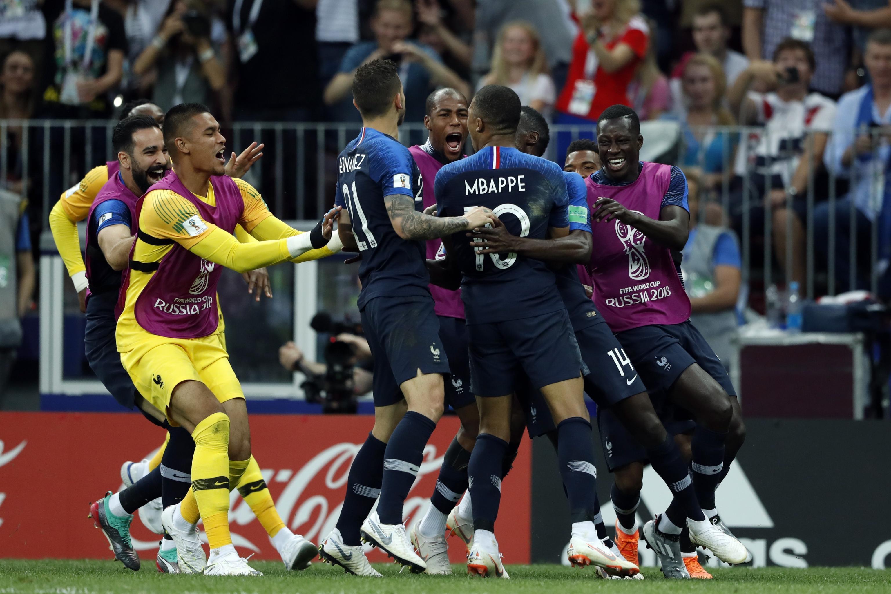 huge selection of 56d16 68dc1 France, Antoine Griezmann, Beat Croatia, Luka Modric 4-2 in ...