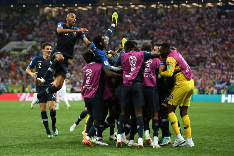 World Cup Final Results 2018: Top Highlights, Stats and Man