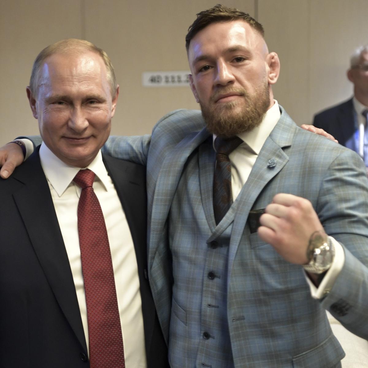Conor McGregor Praises Vladimir Putin, Calls Him One of the 'Greatest Leaders'