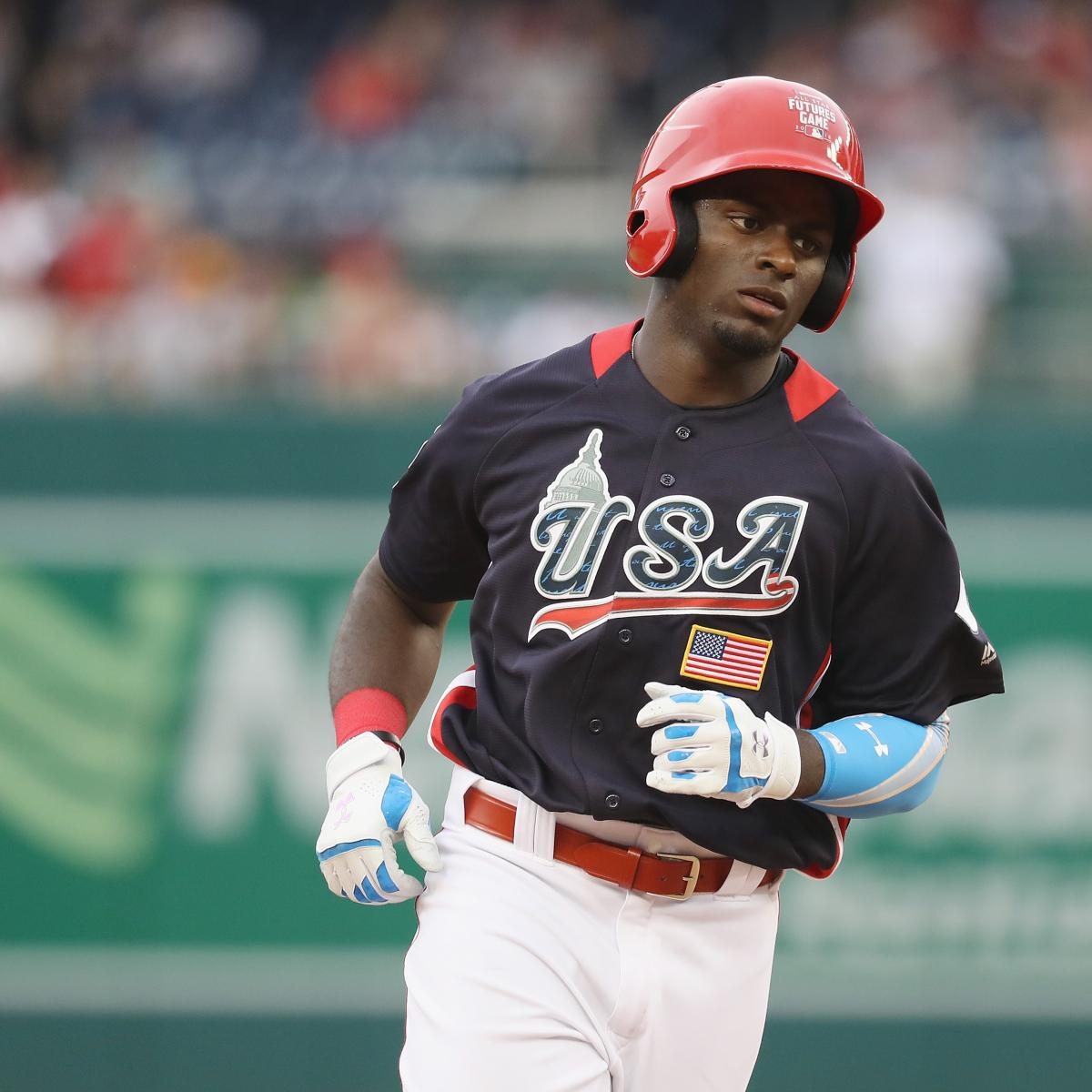MLB Futures Game 2018 Results: USA Beats World, Taylor Trammell Wins MVP