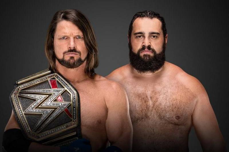 100% authentic fc719 aee34 Credit  WWE.com. AJ Styles ...