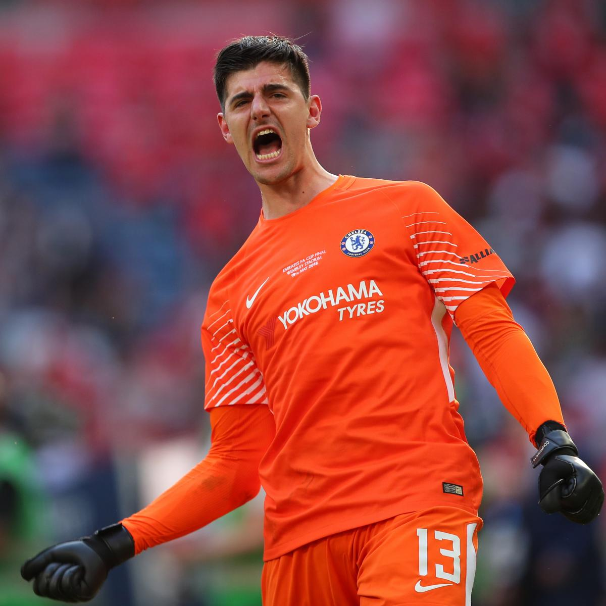 225411dcd11 Report: Real Madrid, Chelsea Agree Thibaut Courtois Fee, Blues Need  Replacement