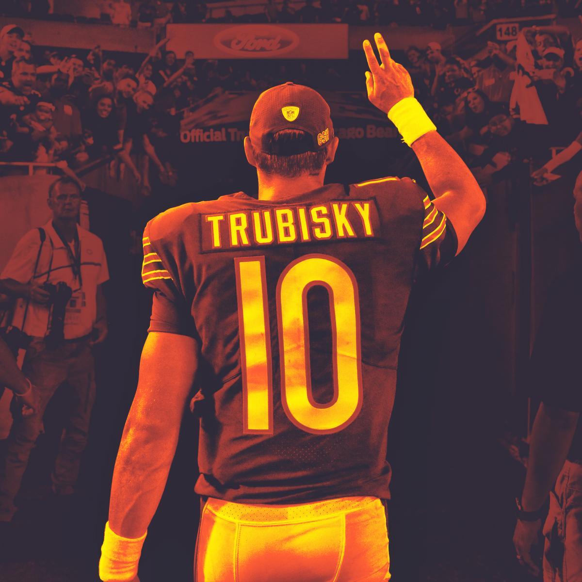 san francisco ea06a 70b74 Mitchell Trubisky Ready to Be the Bears' Savior, 'Make ...