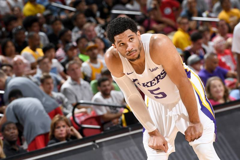 02f5667bb511 Josh Hart Ejected for Arguing with Referees in 2018 Summer League ...