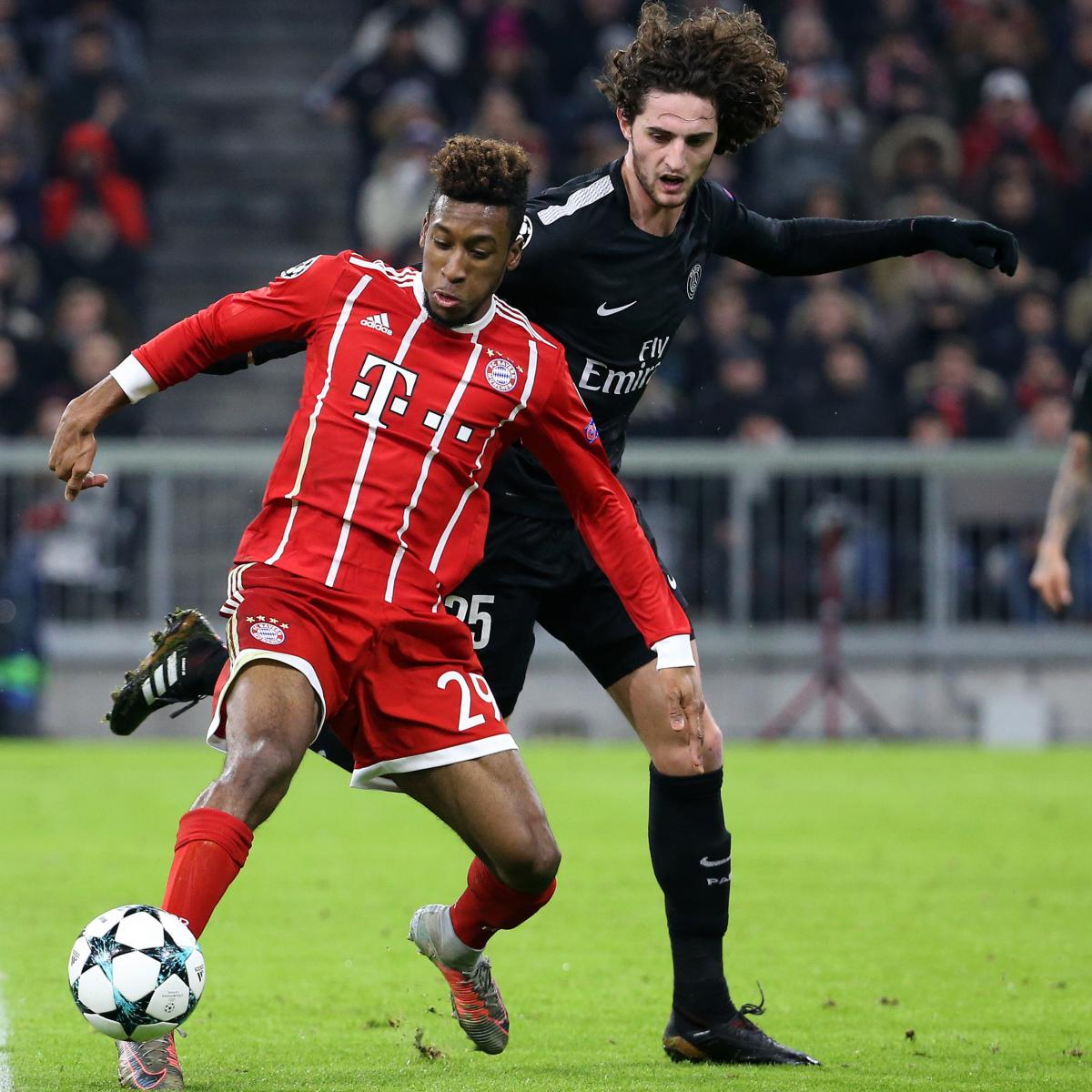 Bayern Munich vs. PSG: 2018 ICC Time, TV Schedule and Live ...