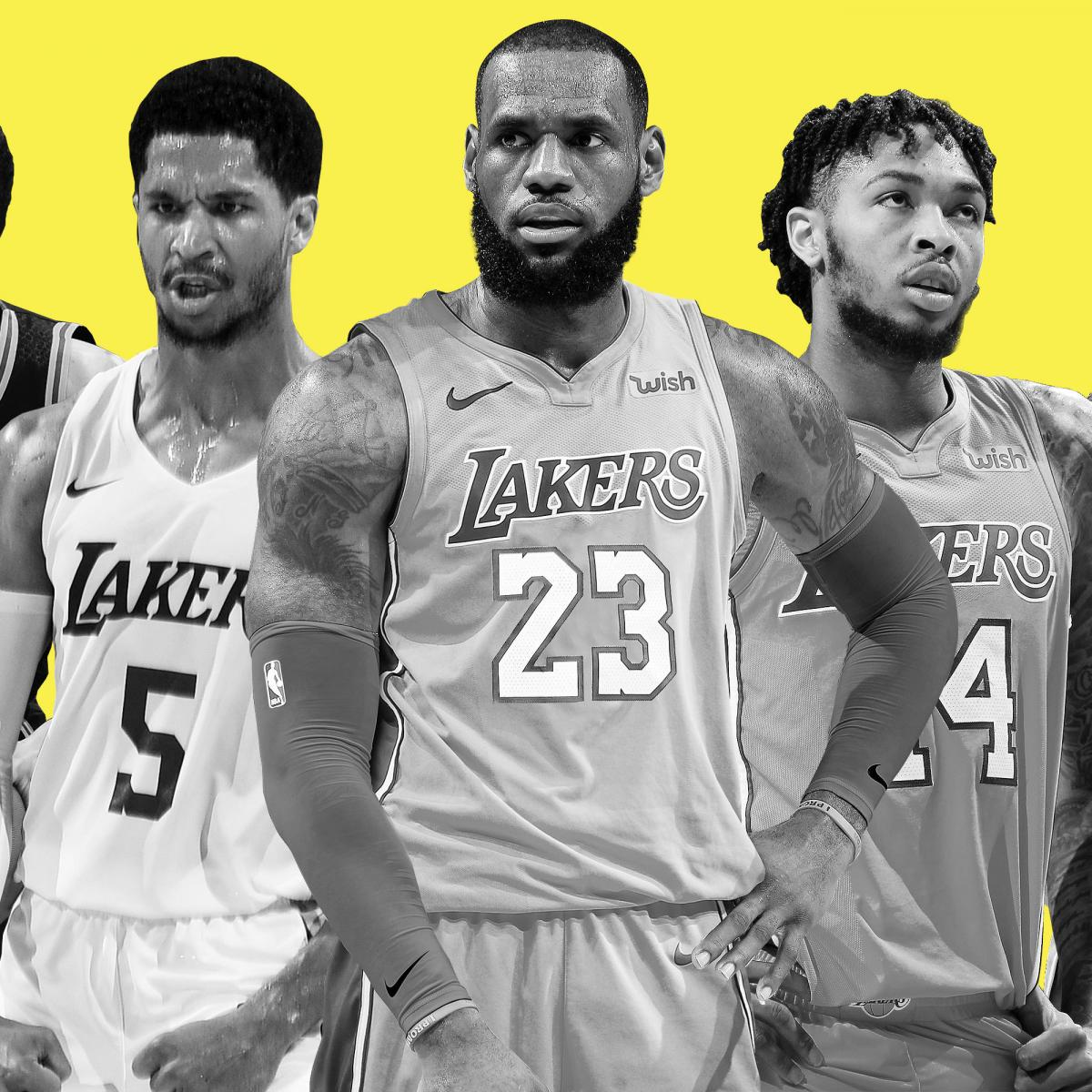 ee6e20ad1460 Lakers  Eager to See Our Version of the Death Lineup  with LeBron at Center