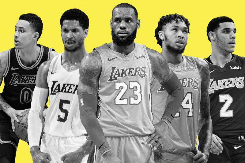 95e9d5696b9 Lakers  Eager to See Our Version of the Death Lineup  with LeBron at Center
