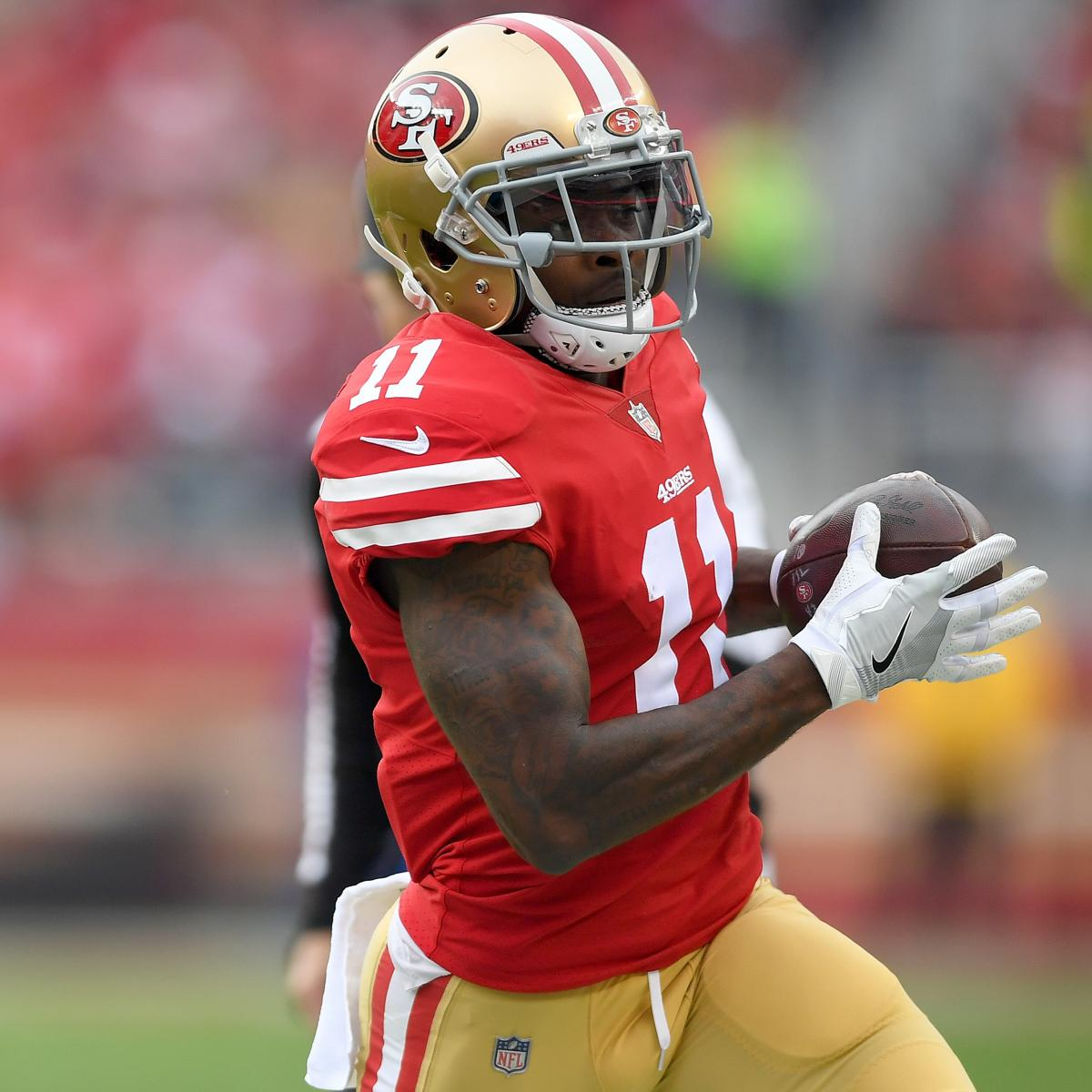 Nfl1000 Rookie Review From Week 9: Marquise Goodwin Out For Week 2 Vs. Lions After Suffering