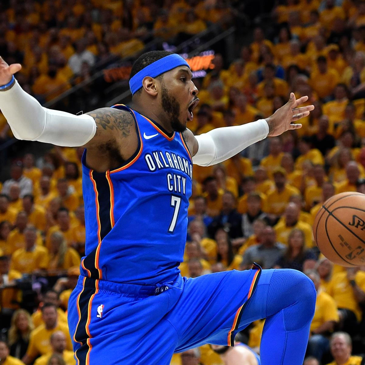 Report  Carmelo Anthony to Sign  2.4M Contract with Rockets After Hawks  Buyout  c8bc0f699