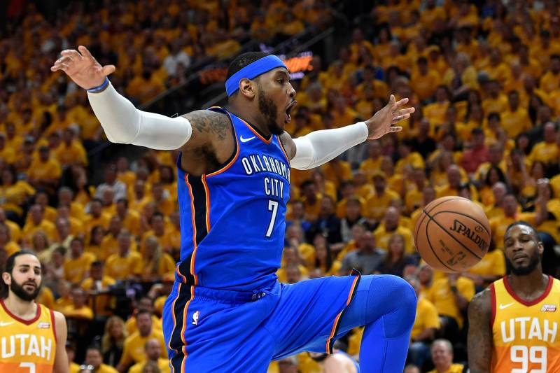 e853e0edcb52 Report  Carmelo Anthony to Sign  2.4M Contract with Rockets After Hawks  Buyout